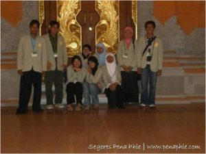 tim sembilan UGM untuk LG PEI-Bali 2007