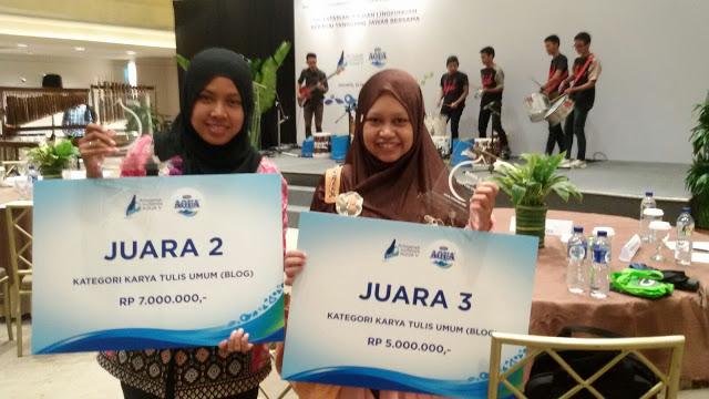 pemenang Anugerah Jurnalistik Aqua V, Liya Swandari