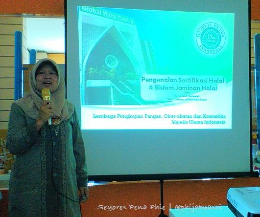 materi dari Ir. Osmena Gunawan - Wakil Direktur LPPOM MUI Pusat