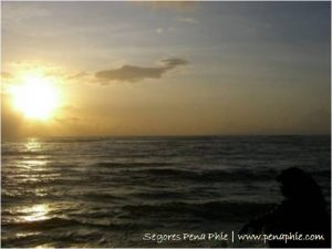 sunrise di Pantai Sanur