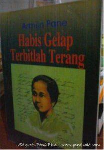 buku Habis Gelap Terbitlah Terang; Kartini