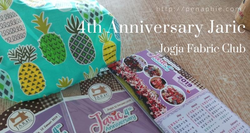 4th anniversary Jaric, Jogja Fabric Club